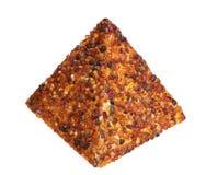 Янтарное piramyd самоцвета Стоковое Изображение RF