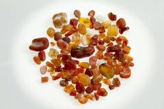 янтарные камни Стоковое Фото