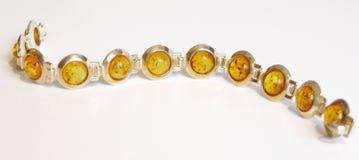 янтарный браслет Стоковое Фото