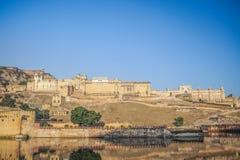 Янтарный дворец, Раджастхан, Индия Стоковые Изображения RF