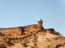 Янтарный дворец Джайпур стоковые изображения rf