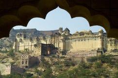 янтарный дворец стоковая фотография rf