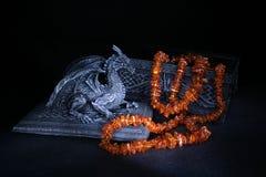 янтарный дракон стоковая фотография