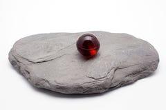 янтарный камень Стоковое фото RF