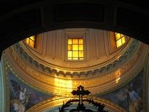 Янтарный солнечный свет Стоковые Фото
