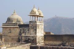 Янтарный форт в Джайпуре Стоковые Изображения
