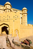 янтарный форт Индия jaipur Стоковые Изображения