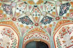 янтарный форт jaipur Стоковое фото RF