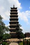 Янчжоу, jiangau, фарфор Стоковые Изображения RF
