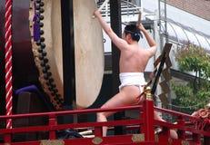 японец барабанщика Стоковые Фото