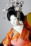японец гейши куклы Стоковые Фотографии RF