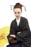 японец гейши Стоковое Изображение