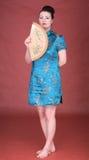 японец девушки вентилятора Стоковые Фото