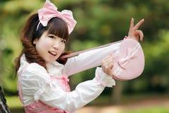 японец девушки способа Стоковая Фотография