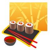 японец еды бесплатная иллюстрация