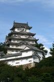 японец замока Стоковые Изображения