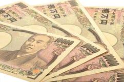 Японец 10000 иен Стоковое фото RF
