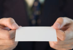 японец обменом визитной карточки изготовленный на заказ Стоковое фото RF