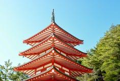 Японец пагод-Takahata Fudo Стоковое Изображение RF