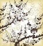 японец предпосылки флористический бесплатная иллюстрация