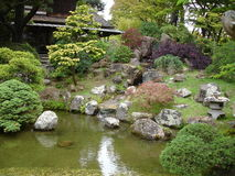 японец сада Стоковая Фотография