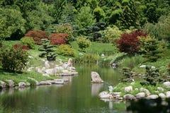 японец сада Стоковая Фотография RF