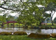 японец singapore сада стоковое изображение
