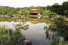 Япония, Киото, Kinkakuji или золотой павильон стоковое фото