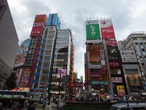 япония Токио Район Shinjuku Стоковое Фото