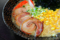 Япония ramen лапша Стоковые Фотографии RF