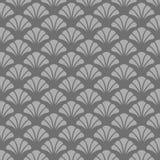 Японская винтажная картина вентилятора Стоковые Фото