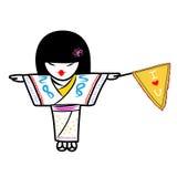 Японская девушка Стоковые Изображения