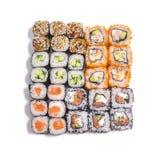 Японская еда Различные установленные крены Стоковые Фото
