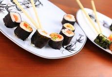 Японская еда, суши Стоковые Изображения RF