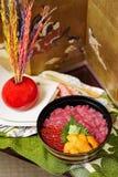 Японская еда Стоковые Изображения RF