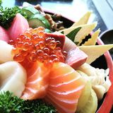 Японская еда Стоковая Фотография RF