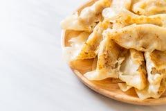 Японская закуска gyoza или вареников стоковое фото rf
