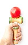 японская игрушка kendama традиционная Стоковые Изображения