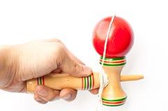 японская игрушка kendama традиционная Стоковые Фотографии RF