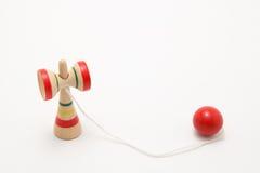 японская игрушка kendama традиционная Стоковая Фотография