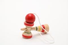 японская игрушка kendama традиционная Стоковое Изображение
