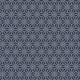 Японская картина звезды шестиугольника Стоковое Изображение RF