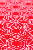 Японская картина ткани кимоно Стоковое фото RF