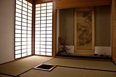 японская комната Стоковое Изображение