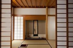 японская комната Стоковое Фото