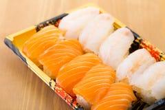 Японская коробка бенто суш Стоковые Фото