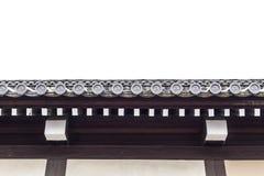 Японская крыша святыни виска для предпосылки Стоковые Изображения RF