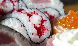 Японская кухня - суши Стоковые Изображения