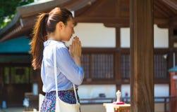 японская моля женщина стоковое фото rf