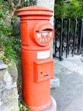 Японская почтовая коробка стоковое фото